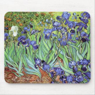 Alfombrilla De Ratón Iris de Vincent van Gogh