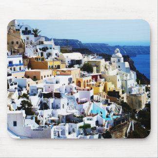 Alfombrilla De Ratón Isla de Santorini en la FOTO de Grecia