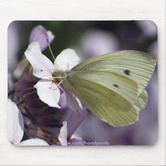 Alfombrilla De Ratón Jardín-amantes Mousepad de la mariposa y de las fl