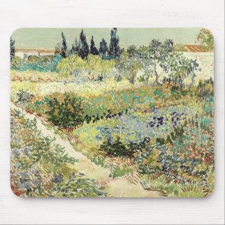Alfombrilla De Ratón Jardín de Vincent van Gogh en Arles