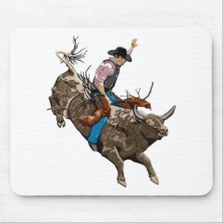Alfombrilla De Ratón Jinete de Bull