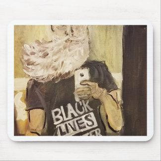 Alfombrilla De Ratón Juan Brown Selfie/materia negra de las vidas