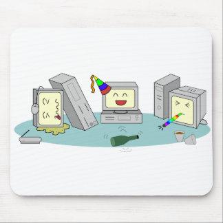 Alfombrilla De Ratón Juego del ordenador del fiesta del Lan Geeky