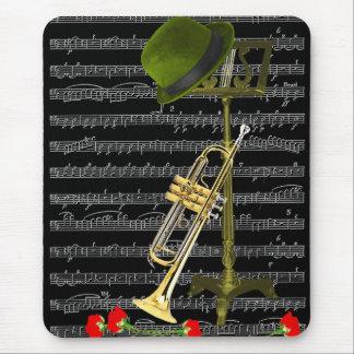 Alfombrilla De Ratón Juegue la música.