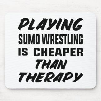 Alfombrilla De Ratón Jugar la lucha de sumo es más barato que terapia