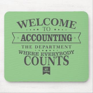 Alfombrilla De Ratón ¡La contabilidad es donde todos cuenta! Mousepad