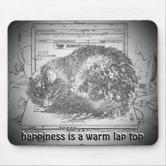 Alfombrilla De Ratón La felicidad es un top caliente Meme del