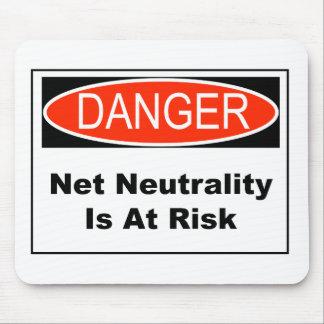 Alfombrilla De Ratón La neutralidad neta es en peligro