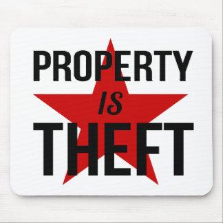 Alfombrilla De Ratón La propiedad es hurto - comunista socialista del