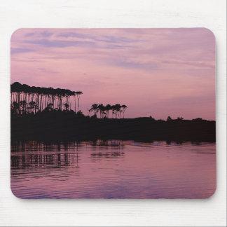 Alfombrilla De Ratón Lago occidental en cojín de ratón rosado