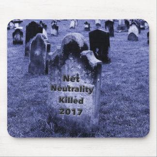 Alfombrilla De Ratón Lápida mortuaria neta de la neutralidad del RASGÓN