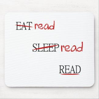 Alfombrilla De Ratón Leído leído leído