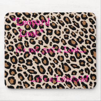 Alfombrilla De Ratón *Leopard Look*