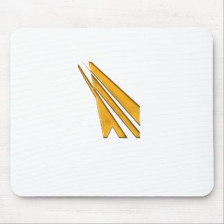 Alfombrilla De Ratón logotipo del oro