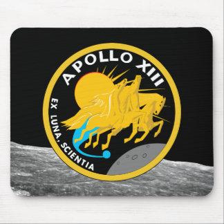 Alfombrilla De Ratón Logotipo del remiendo de la misión de la NASA de