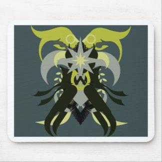 Alfombrilla De Ratón Loki de la abstracción siete