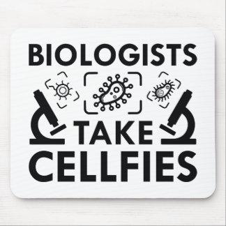 Alfombrilla De Ratón Los biólogos toman Cellfies