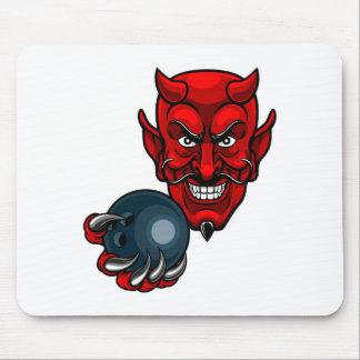 Alfombrilla De Ratón Los bolos del diablo se divierten la mascota