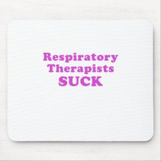 Alfombrilla De Ratón Los terapeutas respiratorios chupan