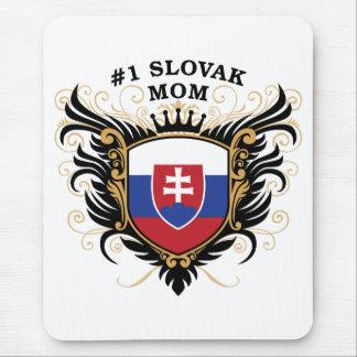 Alfombrilla De Ratón Mamá eslovaca del número uno
