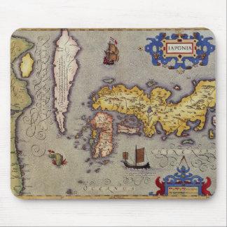 Alfombrilla De Ratón Mapa de Japón de Mercator y de Hondius, 1606