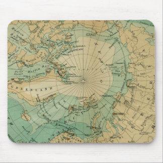 Alfombrilla De Ratón Mapa de la antigüedad el Océano ártico