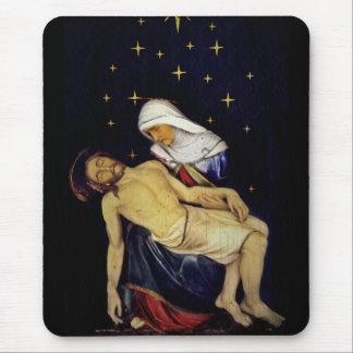 Alfombrilla De Ratón Maria que detiene a Jesús