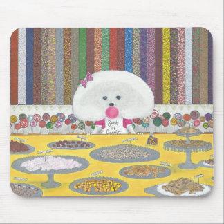 Alfombrilla De Ratón Marie, el Bichon Frise Mousepad
