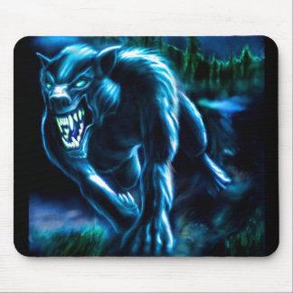Alfombrilla De Ratón Mauspad lobo de quien