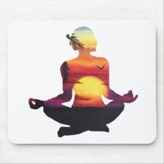 Alfombrilla De Ratón Meditación de la yoga