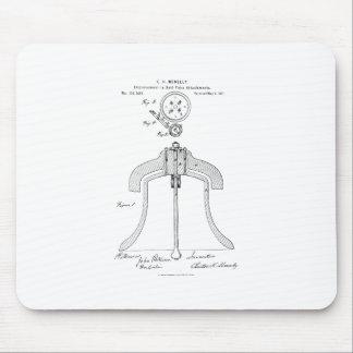 Alfombrilla De Ratón Meneely Bell Company - patente del yugo