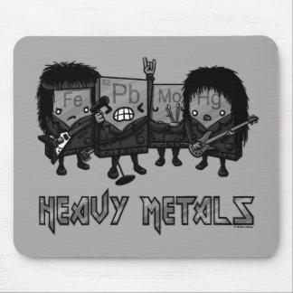 Alfombrilla De Ratón Metales pesados