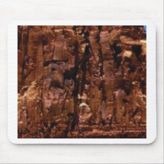 Alfombrilla De Ratón migaja marrón de la roca