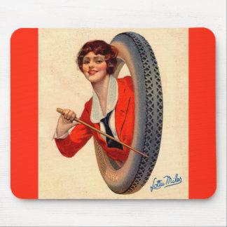 Alfombrilla De Ratón Millas 1928 de Lotta de la mascota del neumático