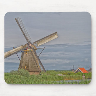 Alfombrilla De Ratón molinoes de viento del sitio del patrimonio