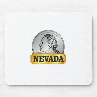 Alfombrilla De Ratón moneda de Nevada