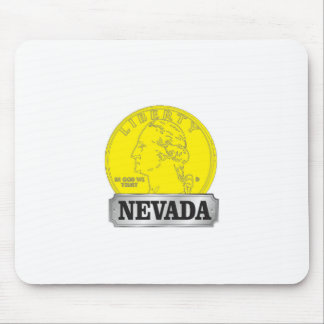 Alfombrilla De Ratón Moneda de oro de Nevada