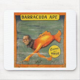 Alfombrilla De Ratón Mono del Barracuda