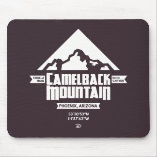 Alfombrilla De Ratón Montaña del Camelback (oscura) - Mousepad