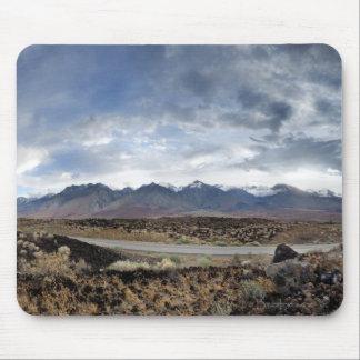 Alfombrilla De Ratón Montañas de Sierra Nevada del valle de Owens
