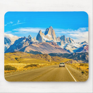 Alfombrilla De Ratón Montañas Nevado los Andes, EL Chalten, la