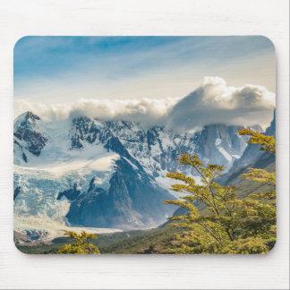Alfombrilla De Ratón Montañas Nevado los Andes, EL Chalten la Argentina