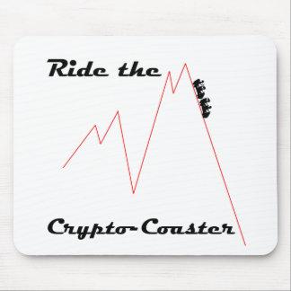 Alfombrilla De Ratón Monte el práctico de costa Crypto