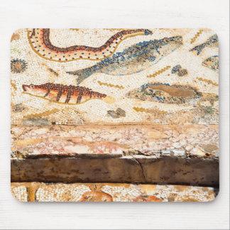 Alfombrilla De Ratón Mosaico romano antiguo
