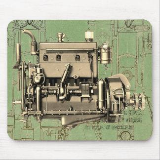 Alfombrilla De Ratón Motor de gas de Milwaukee Wisconsin del motor de