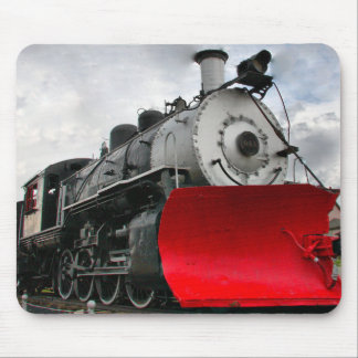 Alfombrilla De Ratón Motor del tren con el mousepad del snowplow