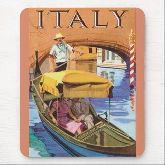 Alfombrilla De Ratón Mouse Pad - Vintage Italy Poster