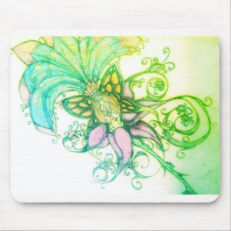 Alfombrilla De Ratón Mousepa tropical del diseño gráfico del ombre