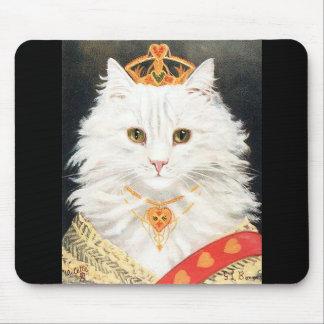 Alfombrilla De Ratón Mousepad con la reina de los gatos