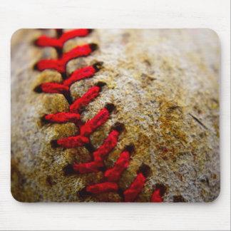Alfombrilla De Ratón Mousepad de costura del béisbol